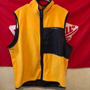 Yellow R.L Polo vest
